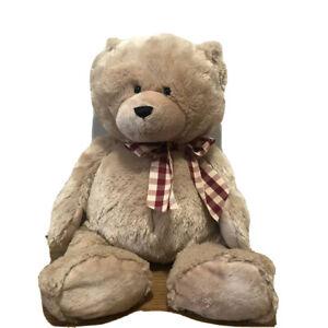 """Ganz 24inch Plush Bear 14227-9903 H12107 """"Charlie"""" Beige/Brown"""