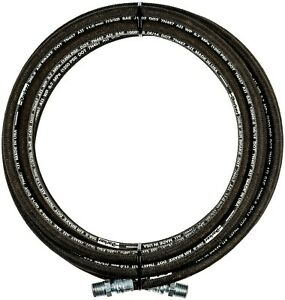 """1/2"""" x 25' 1-Wire Hydraulic Hose 3/8 MPT ENDS 1250 psi NEW PARKER HOSE& FITTINGS"""