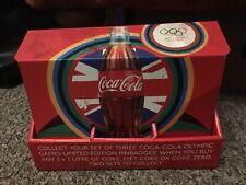 Juegos Olímpicos de Londres 2012 Pin insignias Coca-Cola Colección de 3-Box Set - 26 En Caja