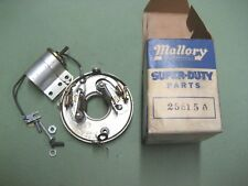 Mallory Dual Point Ball Bearing Conversion Kit 25515A V-8 for a coil