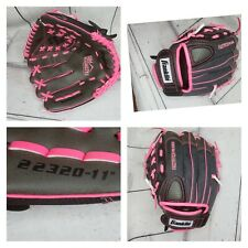 "Franklin Sports Fast Pitch Series Pink Black 22320-11"" Left Hand Throw Glove"