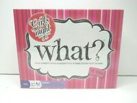What? Girls Night Edition Adult Party Game Ladies Funny Humor Entertainment NEW