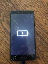 ZTE ZMAX Pro - Black Malfunctioning Power Button Smartphone Cellphone