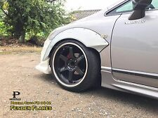 V3.Honda Civic FD 06-12 Fender Flares Wheel arch premium sheet metal / JDM