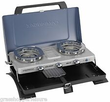CAMPINGAZ 400 ST DOUBLE BURNER & TOASTER CAMPING STOVE portable grill 200015080