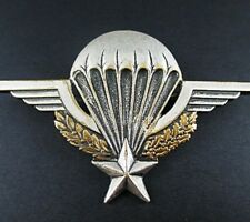 RARE FRENCH FOREIGN LEGION INDOCHINA WAR PARACHUTE WINGS BADGE SERIAL No 107819