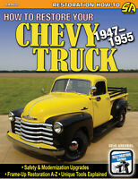 CHEVROLET Chevy TRUCK 1947-1955 restoration restore book