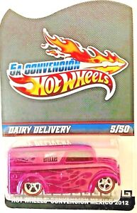 Hot Wheel Dairy Delivery CUSTOM, LIMITED EDITION Real Rider 5A Convention 5/50