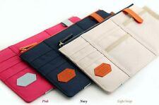 Car Sun Shield Visor Board Organizer Storage Holder Card Bag Organizer Beige