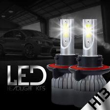2X H13 9008 LED Headlight Bulbs Kit Hi/Lo 488W 48800LM Lamp Replace Xenon 6000K