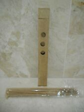 Wooden Holder Incense Josh Sticks X 30 BRAND NEW