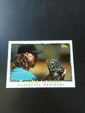 Randy Johnson-1995 Topps Baseball-Cyberstats-nrmt/mt/8-no.116-HOF-Mariners