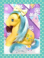 ❤️My Little Pony MLP G1 VTG 1983 Bubbles Italy ITALIAN Variant Nirvana Sitting❤️
