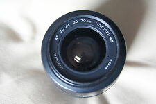 Minolta 35-70 f3.5 in Black Very Good Condition for SONY ALPHA