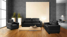 Armchair Living Room Faux Leather Modern Furniture Suites