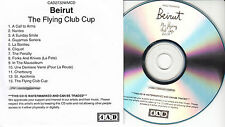 BEIRUT The Flying Club Cup UK 13-trk watermarked promo test CD 4AD CAD 2732WMCD