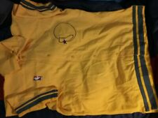 GOLDEN STATE WARRIORS 1986 GAME WARMUP JACKET SZ 42 TAGS RARE CLEAN VTG HTF!