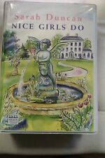 Nice Girls Do by Sarah Duncan: Unabridged Cassette Audiobook (A4)