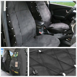 Oxford Cloth + PU Waterproof Car Full Seat Protect Cover for Crossover Sedans