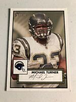 Michael Turner 2006 Topps Heritage Chargers Card #148 *1051*