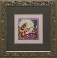 Silver Moon Tea - Mirabilia Designs/Nora Corbett chose chart/embellishments