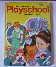 THE ORIGINAL PLAYSCHOOL ANNUAL 1982 - ACCEPTABLE CONDITION