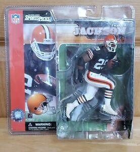 James Jackson Cleveland Browns McFarlane's Sports Picks Series 3 Figure 2002