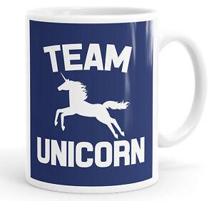 Team Unicorn Funny Slogan Mug Tea Cup Coffee