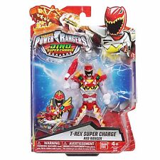 Power Rangers Dino Super Charge 12.5cm T-Rex Super Charge Red Ranger Figure