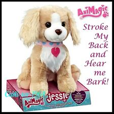 NEW Animagic Jessie My Cuddly Puppy Barks & Responds To Touch & Loves Cuddles!