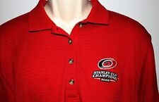 Carolina Hurricanes 2006 Stanley Cup Champions Antigua Women's Red XL Polo Shirt