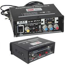 AMPLIFICATORE STEREO M-20  CASA AUDIO AUTO CASA MP3 SD USB CARD RADIO FM 1000W