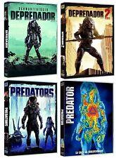 PELICULA DVD PACK SAGA DEPREDADOR 1+2+PREDATORS+PREDATOR NUEVAS EDICIONES NUEVA