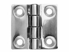 50mm x 50mm x 4,0mm STAINLESS STEEL HINGE
