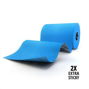 SPORTTAPE Extra Wide Kinesiology Tape - 10CM x 5M - Waterproof, Muscle Tape