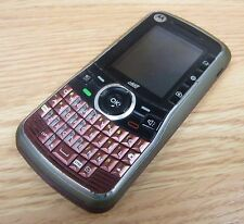 *PARTS* Motorola Clutch i465 - Red (Boost Mobile) Smartphone Bar Cellular Phone