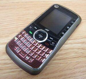 *PARTS* Motorola Clutch i465 - Red (Boost Mobile) Smartphone Bar Cellular Phone