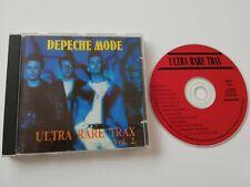 Depeche Mode CD Ultra Rare Trax Vol. 2 Remix Limited Edition