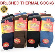 3 multicolores Pares de Calcetines para Hombre Mujer Térmico Invierno Cálido Calcetines UK Size 6-11