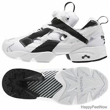 REEBOK FUTURE INSTAPUMP FURY OVERBRANDED MEN'S SHOES SIZE 11 WHITE BLACK AR1413