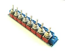 More details for rkpdu4 dpdt toggle power distribution board for bachmann, hornby model railway