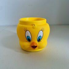 Vintage Tweety 1992 Looney Tunes Warner Brother Plastic Mug Cup