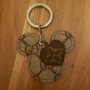 Gucci Upcycled Repurposed Keychain Handbag Charm