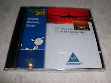 Elemente der Mathematik. Lernsoftware MatheBits. CD-ROM für Windows ab 95 CD-OVP