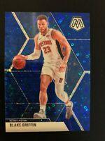 2019-20 Mosaic Blue Prizm Blake Griffin #37 24/85 Detroit Pistons