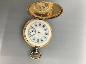 VINTAGE 1894 ELGIN O'hara Dial Fancy Case Pocket Watch