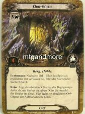 Lord of the Rings LCG  - 1x Ork-Höhle  #028 - Die Stimme Isengards
