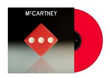 Paul McCartney III Red LP Vinyl Limited Edition 3000 Copies RARE (The Beatles)