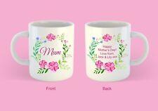 Personalised Mum, Mummy, Nan, nanny, Step mum Mothers Day Gift Mug