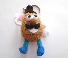 Mr.Potato Voodoo String Doll Keychain Ornament Accessory (Thai handmade)